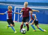 The Under 7's tournament began at the Gazprom Academy
