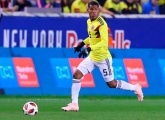 Wilmar Barrios plays his 20th match for Colombia