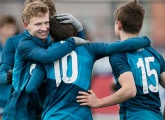 Photos of Konoplev Academy U16s 1-5 Zenit U16s