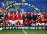Russia come second in the Granatkin Memorial Tournament, Prokhin voted best defende