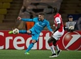 «Monaco» — «Zenit»: a photo report from «Louis II»
