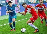 Photo report from Zenit v Spartak Moscow at the Petrovsky