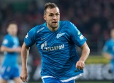 Zenit v Anzhi: Dzyuba and Azmoun start the game