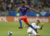 Wilmar Barrios leads Colombia to a 2-0 win over Argentina