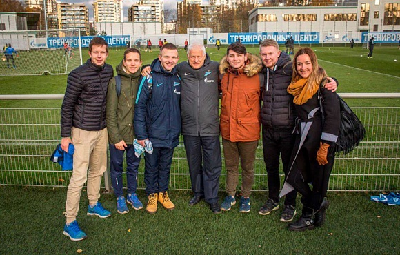 Club Good Deeds: Zenit host visitors from Yukki orphanage
