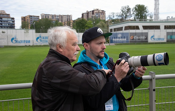 The winners of the Zenit Bloggermania competition visited the Gazprom Training Centre