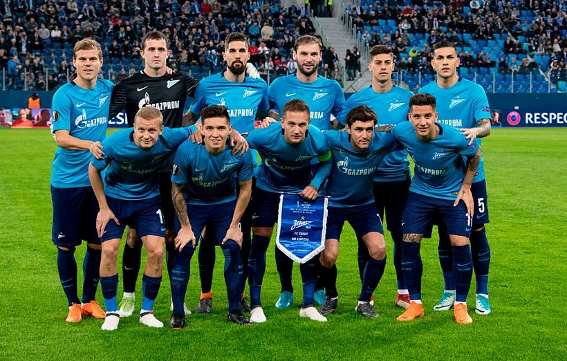 Zenit climb to 16th in the UEFA club rankings