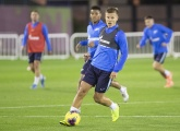 Gazprom Training Camp in Qatar: Kokorin's gets his goal, gym work and other news of the day