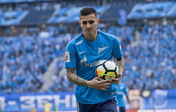 Dynamo Moscow v Zenit: Paredes will miss the match due to suspension
