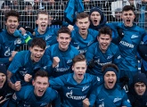 Photo report from Zenit U19s v Spartak Moscow U19s