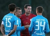 Zenit completes third day of training camp with win over Split