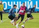 Photo report of the team in training before the match with Dynamo Moscow