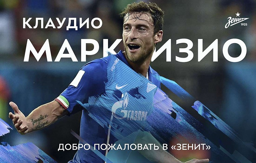 Claudio Marchisio signs for Zenit