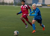 Photo report of Qatar's Aspire Academy taking on our youth side