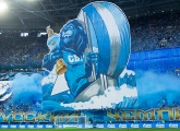 61,494 fans set a  new attendance record at the Gazprom Arena