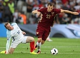 England - Russia: Shatov, Smolnikov and Dzyuba made their debuts at the European Championships