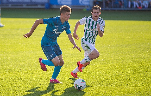 Zenit U19s defeat Akhmat Grozny in St. Petersburg
