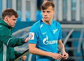 Ilya Skrobotov is the youngest ever Zenit goalscorer in the RFPL