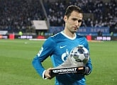 Roman Shirokov receives RPL Player of the Month award for October