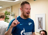 "Ivan Novoseltsev: ""I'm glad that Lunyev has joined Zenit, another good player makes us better"""