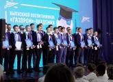 Zenit-TV at the Gazprom Academy graduation evening