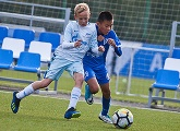 Photos from the match between Zenit -U12s and our guests from China