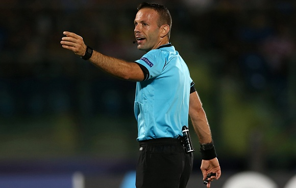 Referee appointment made for Zenit v RB Leipzig in the UEFA Champions League