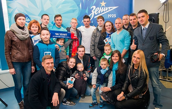 The winners of the Zenit-Sportforecast competition visited the Gazprom training centre