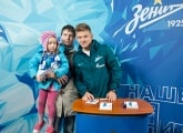 Shatov and Ryazantsev met with the winners of the Zenit Forecast contest