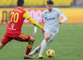 Highlights of Arsenal Tula v Zenit for viewers outside of Russia