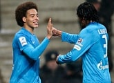 "Axel Witsel: ""I`m really happy I scored my first two Russian goals"""