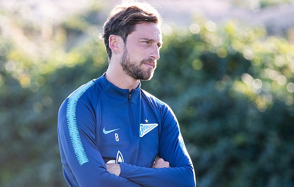 "Claudio Marchisio: ""St. Petersburg gives me only positive thoughts and feelings"""
