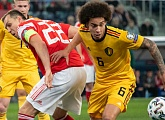 Russia lose out at home to Belgium