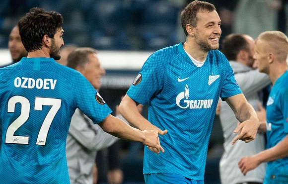 Four Zenit players called up by the Russian national team