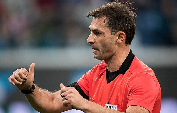 Referee appointment made for Arsenal Tula v Zenit in the RPL