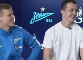 Lunev and Kokorin answer the fans questions with Gazprom