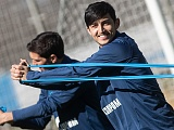 Photos from open training before the match with Krasnodar