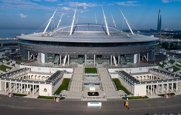 The RFU approve the Gazprom Arena's application to host the Champions League final