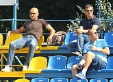 Luciano Spalletti attends Zenit youth team match