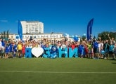 The Grand Festival of Football in Omsk had 7,000 visitors