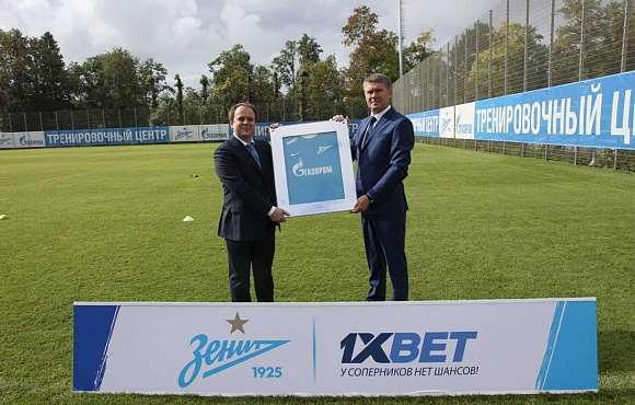 Zenit go into partnership with 1XBET bookmakers