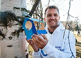 Club Good Deeds: Domenico Criscito took part in a city clean-up