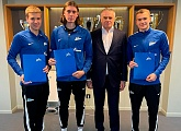 Three Zenit U18s players sign long term deals with the club