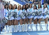 Soul Sisters cheerleaders` performance at the match vs. Krylya Sovetov: Top photos