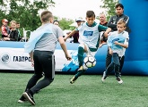 Photos from the Big Festival of Football in Irkutsk