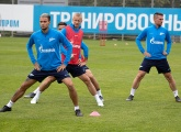 Open training before the away trip to Orenburg this Thursday