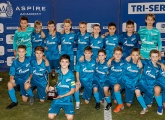 Zenit U12s win in Qatar