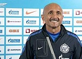 Luciano Spalletti`s pre-match briefing before playing Dynamo