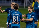 The Gazprom Academy sees its teams go into the Winter break all in first place