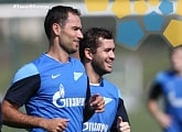 Training Camp in Doha: Shirokov scores a brace in Zenit`s evening scrimmage